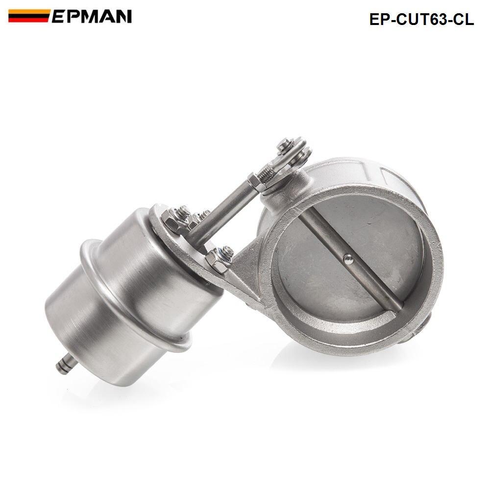 NEW Vacuum Recorte de Escape Ativado/Dump 63 MM Fechar Pressão Estilo: cerca de 1 BAR Para BMW E30 3 EP-CUT63-CL