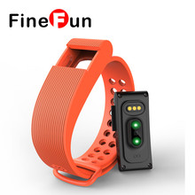 Finefun ID105 smart Сердечного ритма браслет вызова/SMS напоминание Шагомер сна монитор браслет для Android IOS Телефон