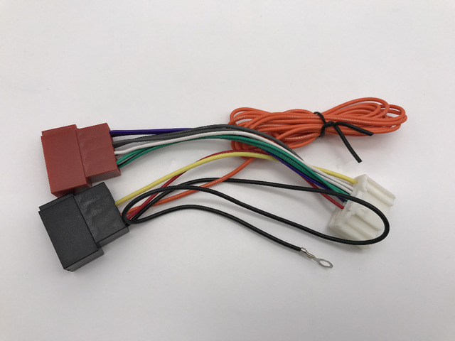 ISO standard Wiring HARNESS cable Radio Adapter Plug for NISSAN 2006 ...
