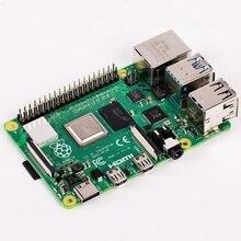 Последние Raspberry Pi 4 Model B с 1/2/4GB RAM BCM2711 Quad core Cortex-A72 ARM v8 1,5 ГГц Поддержка 2,4/5,0 ГГц Wi-Fi Bluetooth 5,0