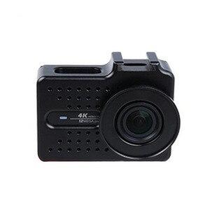 Image 2 - Cho Xiaomi Yi 4 k Phụ Kiện Nhôm Hợp Kim Kim Loại Nhà Ở Khung Trường Hợp Bảo Vệ + UV filter cho Xiao Yi 4 k action máy ảnh