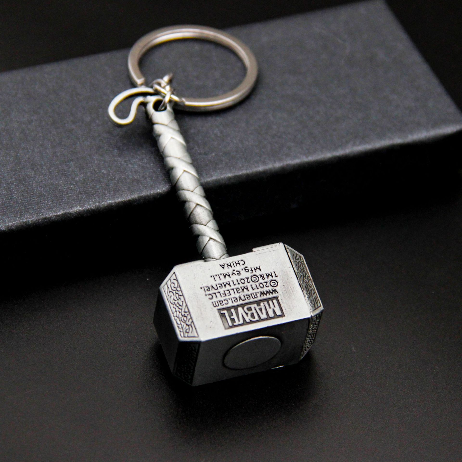 Marvel Avengers Thor 39 s Hammer Mjolnir Keychain Captain America Shield Hulk Batman Mask KeyChain Keyrings Drop Shipping Wholesale in Key Chains from Jewelry amp Accessories