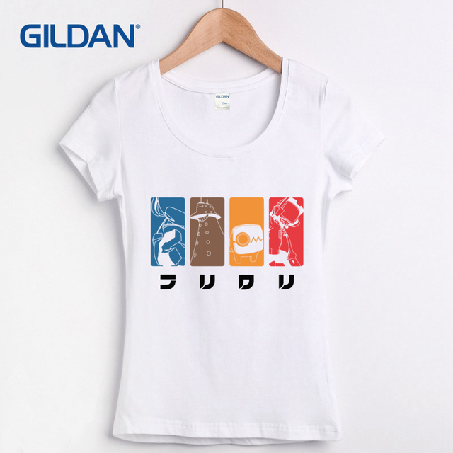 7d8d986b4 T Shirt Quotes Flcl Lord Canti Fooly Cooly Anime Cartoon Shop Womens Tee  Shirt Online Short