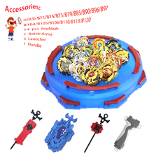 Beyblades Burst Set Toys Metal Fusion Fighting Gyro 4D with Launcher Spinning Top Blades
