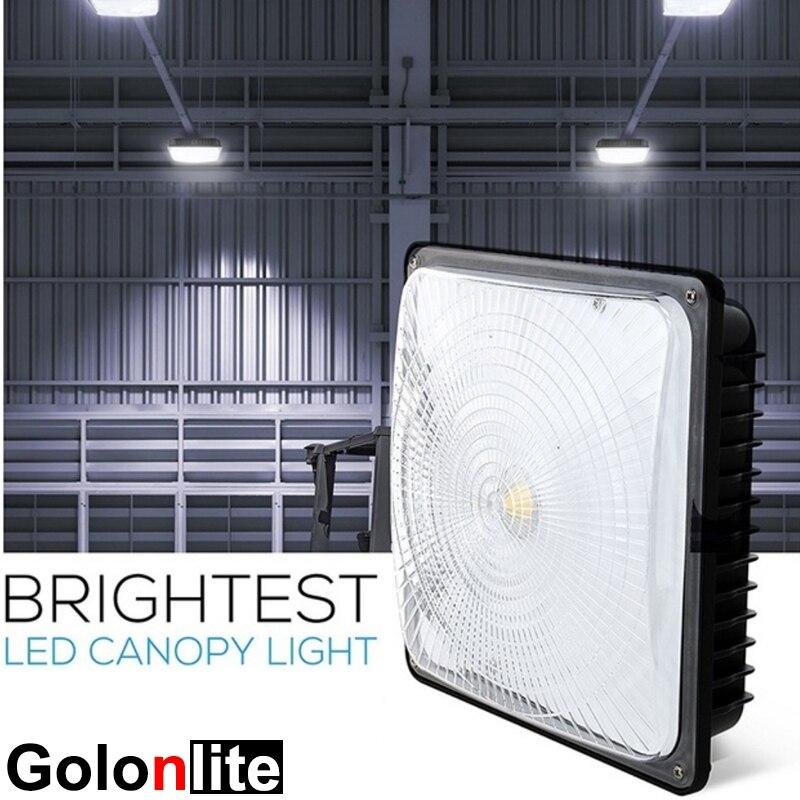 Golonlite 45W LED Canopy Light For Indoor Outdoor Lighting