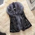 gilet Fake Fur Plus Size Women Vest s to xxxl women gilet femme colete polly pocket colete feminino de inverno waistcoat fur