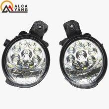 Malcayang Angel Eyes Car styling 55W LED / Halogen Fog LIGHT Lights drl Refit For NISSAN ALMERA 2/II Hatchback (N16) 2001-2006