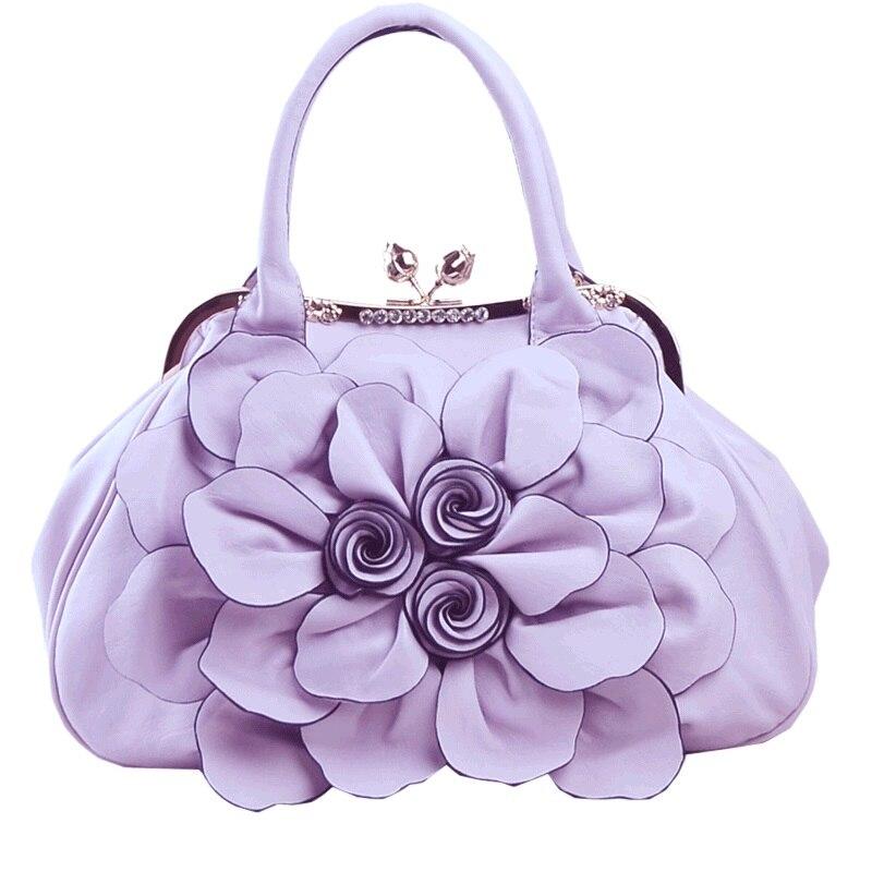 18941 New Fashion Women Totes Big Flower handbag Womens Shoulder Bag leisure Sweet Ladies Handbag18941 New Fashion Women Totes Big Flower handbag Womens Shoulder Bag leisure Sweet Ladies Handbag