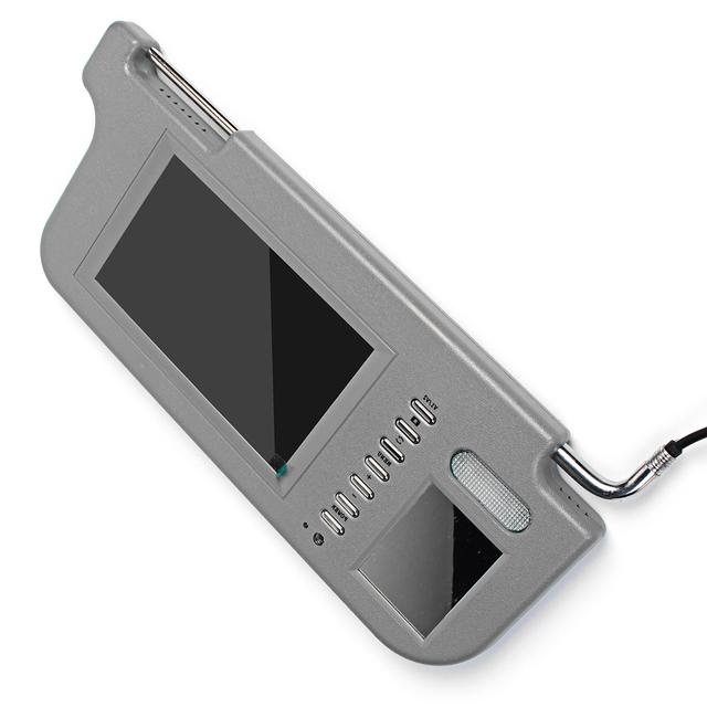 LCD Screen mirror Visor Monitor Rear Camera
