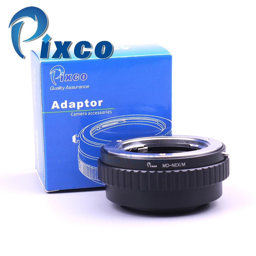 Pixco Macro to Infinity Focusing Len.s Adapter Tube Suit For Minolta MD Lens to Sony E Mount NEX Camera NEX-3 NEX-5 3N NEX-6 meida universal speedlight to hot shoe adapter for sony nex 3 nex 3c more silver page 5