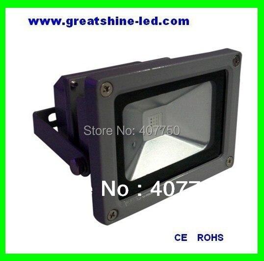44key or 24 key IR remote control rgb high voltage 10w led floodlight used for gardens and meadows