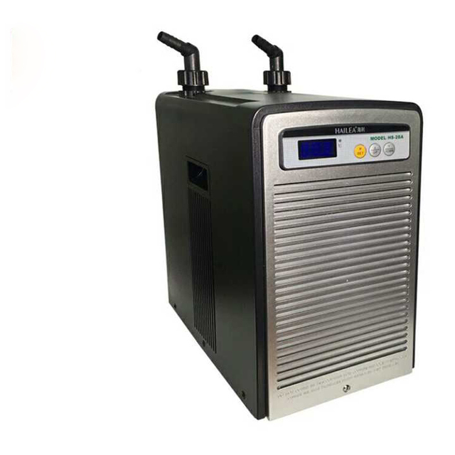 1 2hp 373w hailea water chiller hs 90a fish tank marine for Fish tank water cooler
