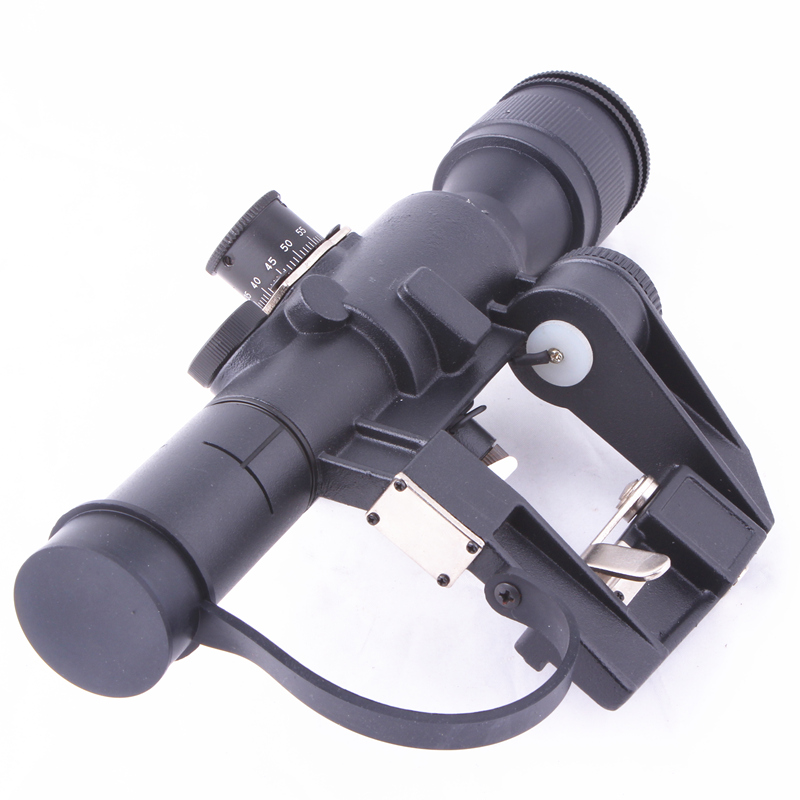 Tactical Red Illuminated 4x26 PSO-1 Type Riflescope for Dragonov SVD Sniper Rifle Series AK Rifle Scope for Outdoor Hunting pso 1 soviet russian sniper svd ak47 romak norinco dragunov scope warsaw pact 4x26 telescopic sight optical hunting accessories