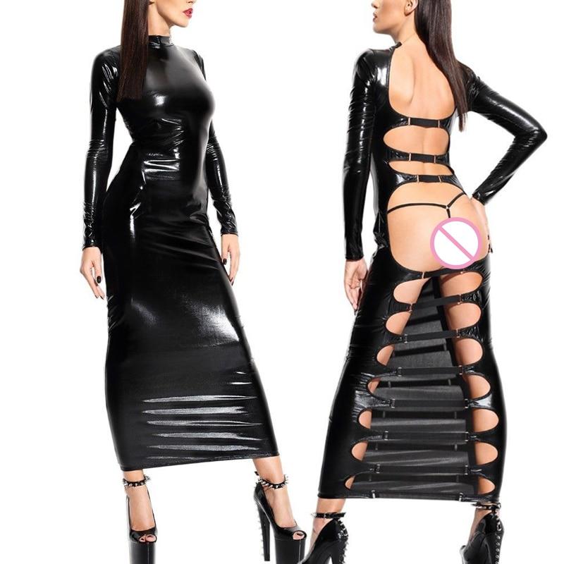 Женщины в лаковой и латексной одежде фото 328-239