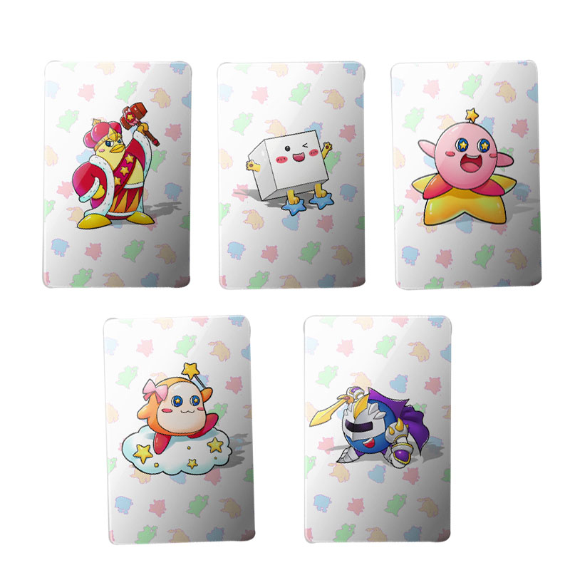 цены Newest 5PCS NFC Cards Kirby Star Allies NS Game NTAG215 For NS switch