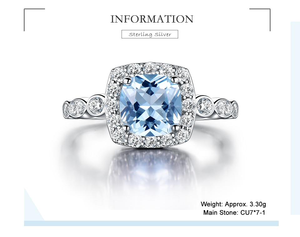 HTB1wG56eCWD3KVjSZSgq6ACxVXaJ - UMCHO  Real S925 Sterling Silver Rings for Women Blue Topaz Ring Gemstone