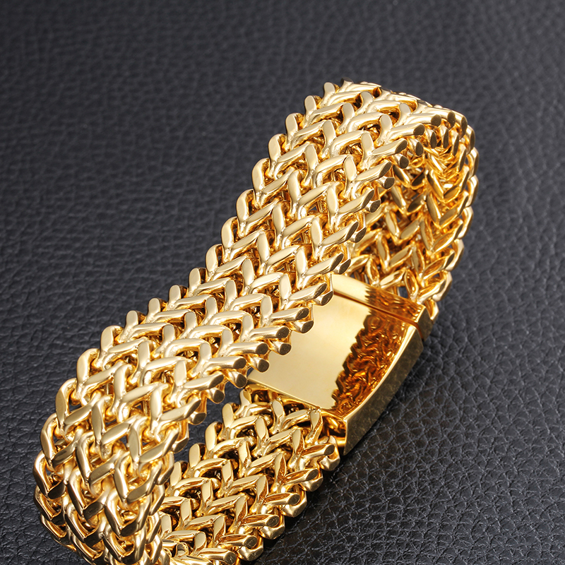 men jewelry for thick plated bracelet bangle bangles real fashion ring chain gold product size from color wholesale big kundan