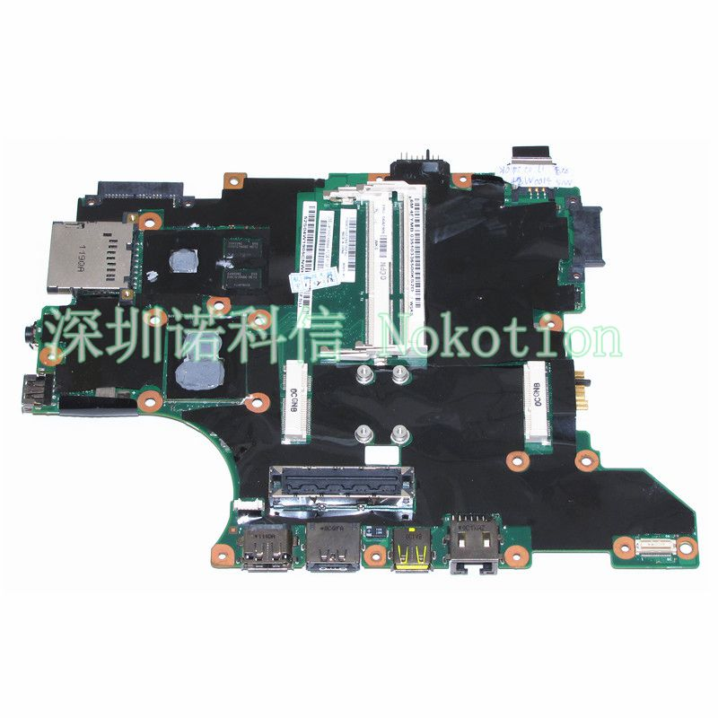 FRU 04W1905 For lenovo thinkpad T410I Laptop motherboard I5-540M CPU onboard NVS 3100M ddr3 цены