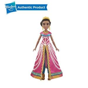 Image 5 - Hasbro Disney Aladdin Glamorous Gelsomino Deluxe Fashion Doll Jasmine Bambola Aladdin Regalo di Film Per I Bambini 3 Anni di Età