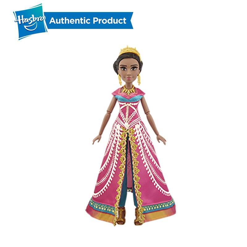 Image 5 - Hasbro Disney Aladdin Glamorous Jasmine Deluxe Fashion Doll Jasmine Doll Aladdin Movie Gift For Kids 3 Years Old-in Dolls from Toys & Hobbies