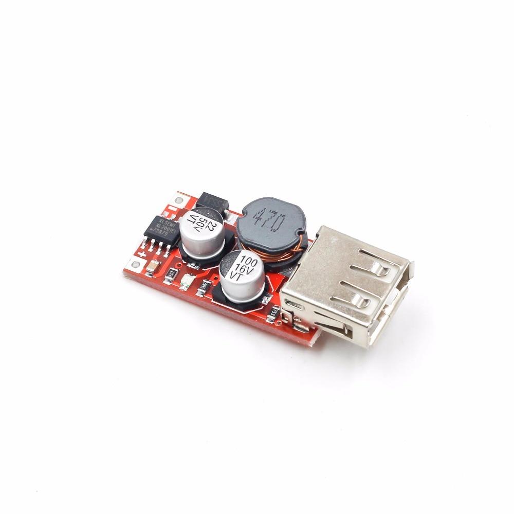 Feine 6-24V 12 V/24 V zu 5V 3A AUTO USB Ladegerät Modul DC Buck step down Converter 12v 5v netzteil modul