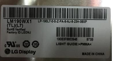Новый LM190WX1-TLL7 LM190WX1-TLL7 LM190WX1-TLL7/1 ЖК-экран разрешением 1440x900 бесплатная доставка