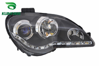 Pair Of Car Headlight Assembly For PROTON GEN2 2008 Tuning Headlight Lamp Parts Daytime Running Light
