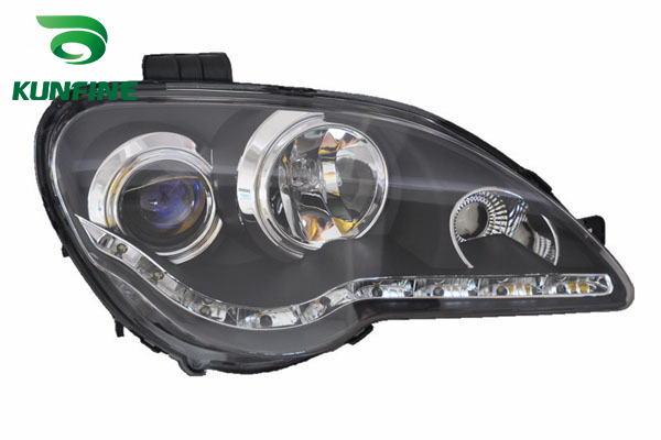 Pair Of Car Headlight Assembly For PROTON GEN2 2008 Tuning Headlight Lamp Parts Daytime Running Light Bi Xenon right combination headlight assembly for lifan s4121200