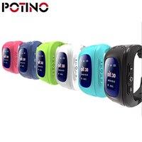 POTINO Q50 Smart Watch OLED Screen Children Baby Tracker Satellite Monitor SOS Phone Call GPS Watch