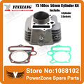 YinXiang YX 140cc 56mm Cylinder + Gasket  Kit Fit  KAYO IRBIS GPX PIT PRO Dirt Bike Pit Bike Engine  Free Shpping