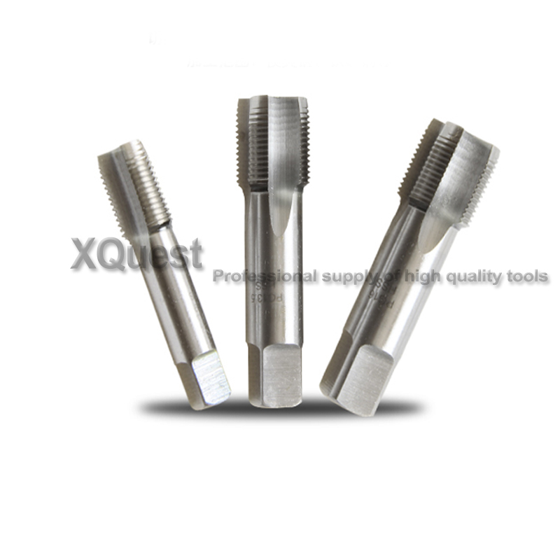 XQuest HSS Conduit Thread Screw Tap PG7 PG9 PG11 PG13.5 PG16 PG21 PG29 Pipe Thread Tap For Gas Cylinders German Standard Taps