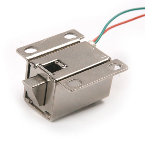 Fixmee High Quality 10 PCS DC12V/350MA Ultra-Compact Locks Free Shipping Cabinet Door Electric Lock Assembly Solenoid