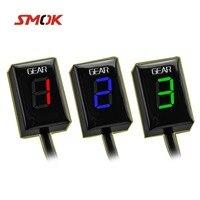 SMOK Motorcycle Ecu Direct Mount 1 6 Speed Gear Display Indicator For Kawasaki Z300 ER6N Z1000SX Ninja 300 Z1000 Z800 Z750