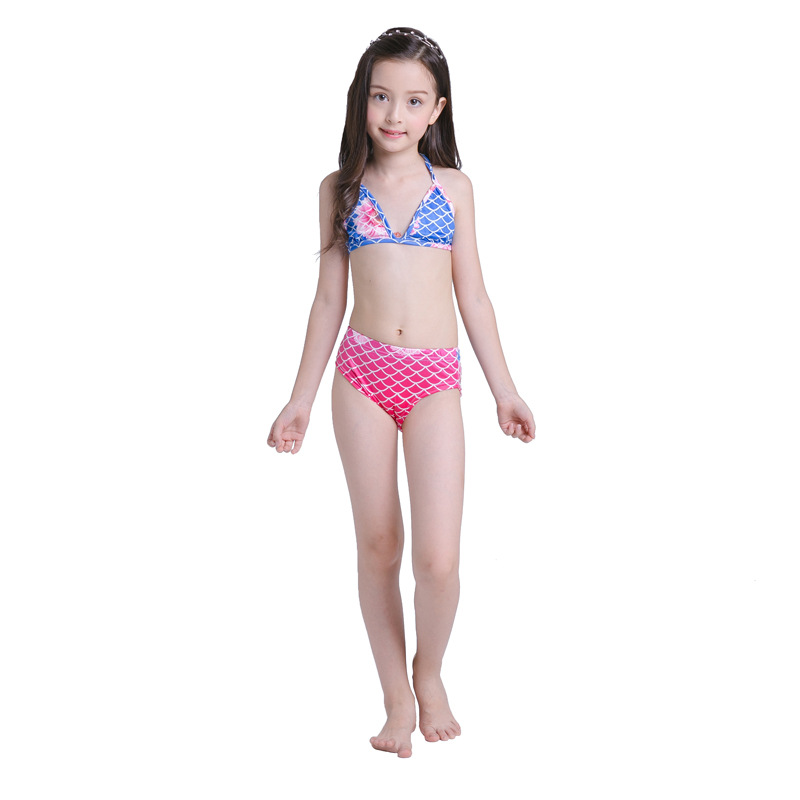 Mother & Kids Yy819 5 New Fashion European And American Swimwear Children Mermaid Swimming Clothes Childrens Swimsuit Girl Bikini