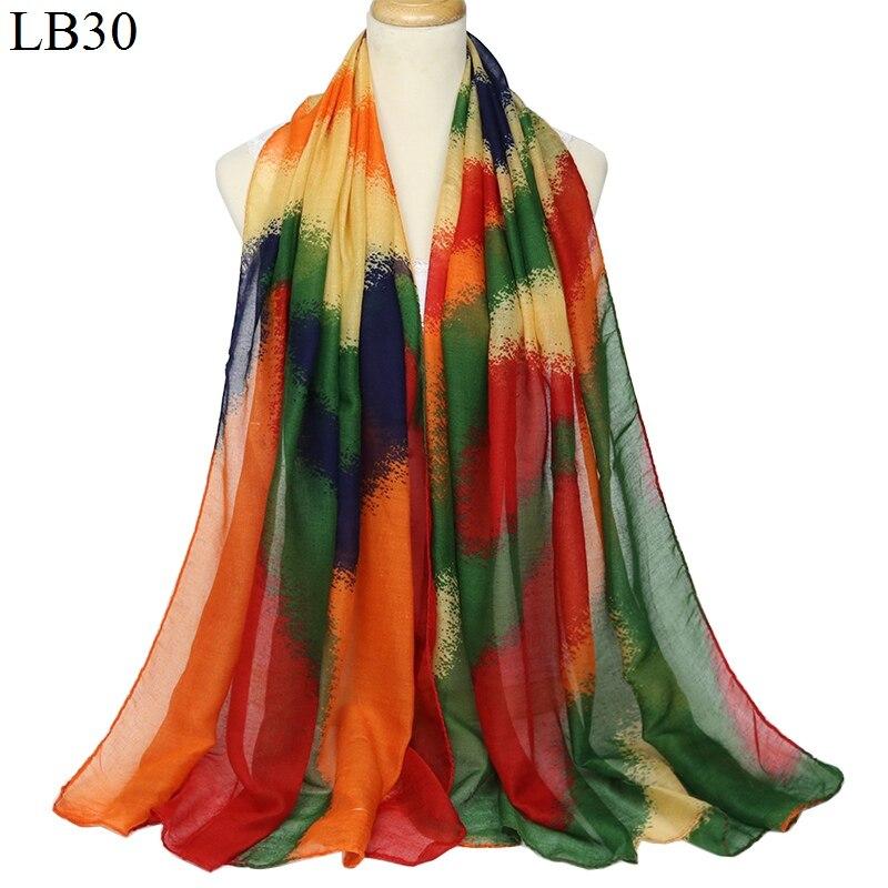 Multi-Color Polyester Cotton Women/'s Soft Scarf Wrap Shawl Scarves--180cm*90cm