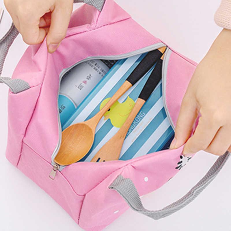 Детские термоизоляционный для продуктов сумка Портативный Водонепроницаемый Термальность Оксфордский обед сумки удобно для отдыха стильная футболка с изображением персонажей видеоигр Пикник сумка-тоут MBG0326