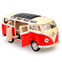 Ancient Classic Vehicle Toys Metal Volkswagen Bus Model For Kids