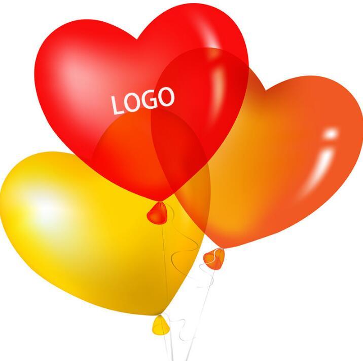 1000pcs 2 2g pc Custom Balloons Celebration Helium Latex Balloon Company Promotion Event Kids Gift Custome