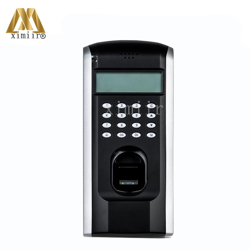 ZK F7 Fingerprint Access Control TCP/IP Fingerprint Door Access Control System With Keypad Fingerprint Reader Door Control good quality tcp ip communication free software zk multibio700 facial time attendance and access control with fingerprint reader