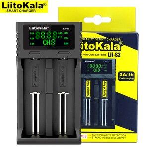 Image 3 - Liitokala Lii S2 Lii 402 Lii S4 סוללה מטען, טעינת 18650 18350 18500 16340 10440 14500 26650 1.2V AA AAA NiMH סוללה.