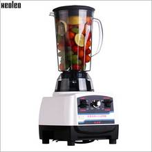 Xeoleo 2.5HP BPA Free Commercial Blender Mixer 2L Heavy Duty Blender 1900W High Power Food Processor Ice Smoothie Bar Blender