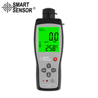 SMART SENSOR ручной аммиака метр NH3 детектор газа монитор тестер монитор газоанализатор обнаружения утечки горючего 0 100PPM