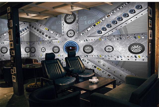 Large custom mural wallpaper cool car accessories papel de parede ...