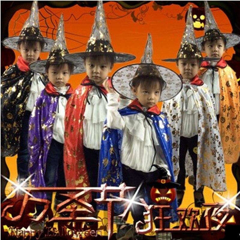 Унисекс Хэллоуин колдунья костюм ведьмы плащ Косплэй ролевая игра шоу карнавал день благодарения Маскарад праздничное платье