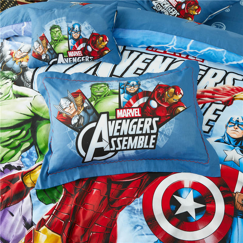 3096439e29 Disney conjunto de cama queen size 3D the avengers marvel quarto ...