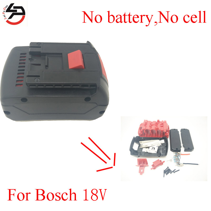 LPD <font><b>18v</b></font> Rechargeable <font><b>Batteries</b></font> case for <font><b>Bosch</b></font> Plastic Shell( Box No Cells Inside) Li-Ion image