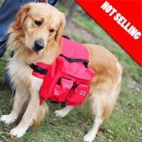 New Outdoor Dog Saddle Backpack Bag Pet Dog Carrying Bags Medium And Large Dog Pack Bag