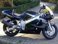 Hot venda, Para Suzuki GSXR 600 GSXR 750 peças SRAD 96 97 98 99 00 GSX-R 600 GSX-R 750 1996 1997 1998 1999 2000 carenagem da motocicleta