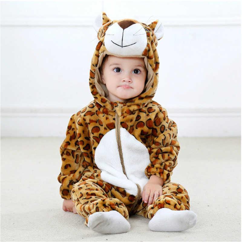 Детские комбинезоны с пандой для девочек и мальчиков, одежда для новорожденных, детский комбинезон, зимний комбинезон с вышивкой, пижама с животными, roupas de bebe recem naccido