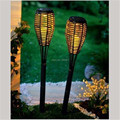2 pçs/lote nova luz Solar para jardim quente Led amarelo Solar postes de tecido decorativo arte ligado gramado para jardim